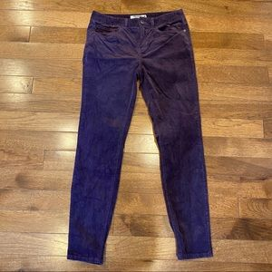 MOUNTAIN KHAKIS PURPLE CORDUROY CLASSIC PANTS